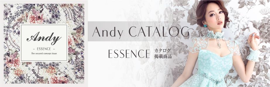 Andyコンセプトカタログ エッセンス